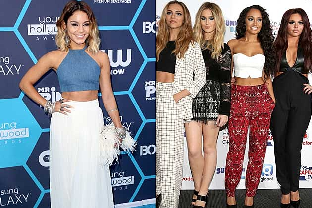 Vanessa Hudgens + Little Mix