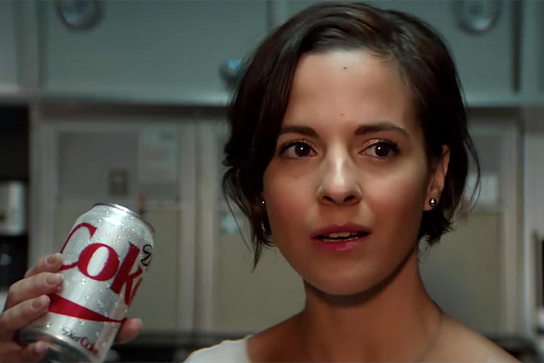 Diet coke commercial on plane
