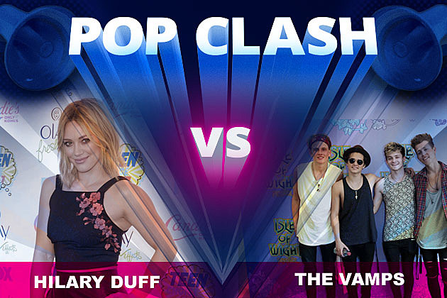 Hilary Duff The Vamps