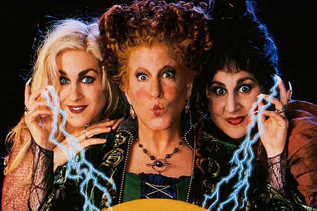 hocus pocus is one of those classic halloween films from our childhood who can forget when the witches chased the kids into the graveyard - Halloween Movies About Witches
