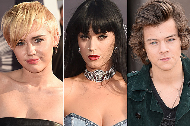 Miley Cyrus / Katy Perry / Harry Styles