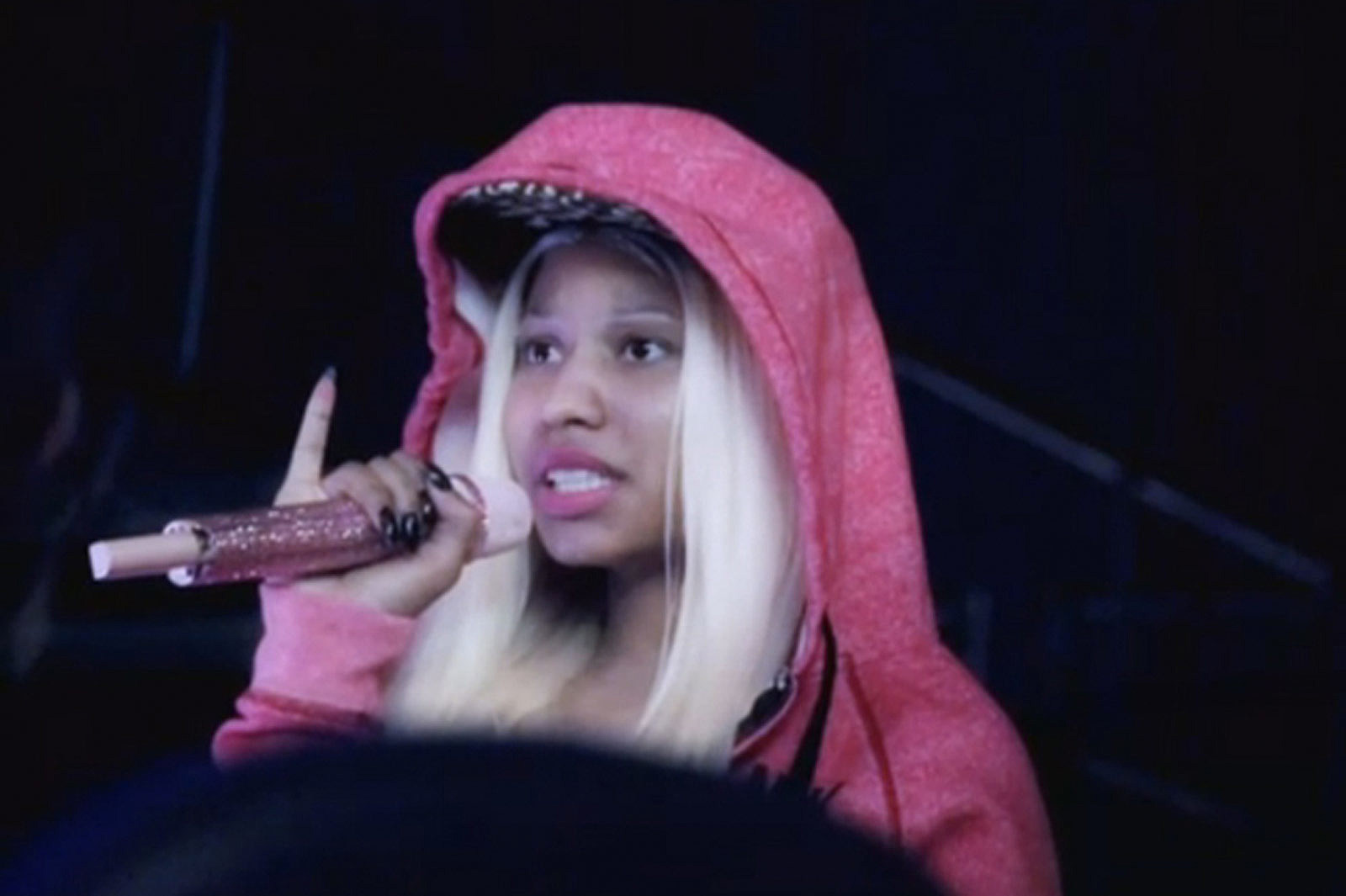 Nicki minaj with no