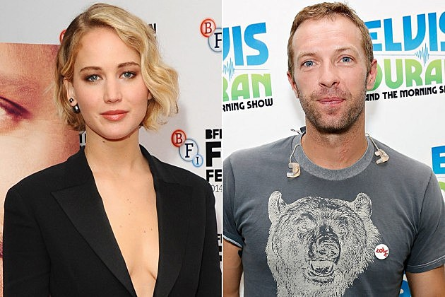 Jennifer Lawrence Chris Martin