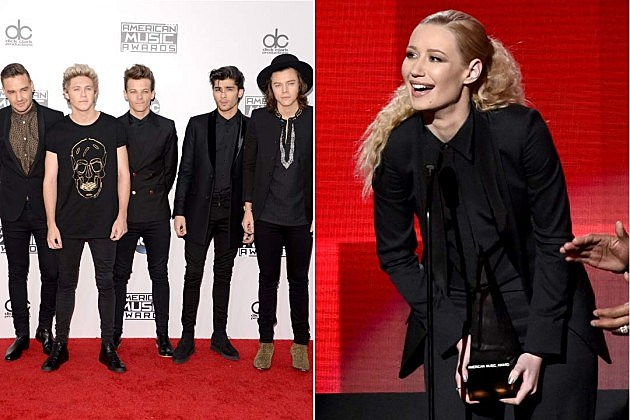 One Direction Iggy Azalea
