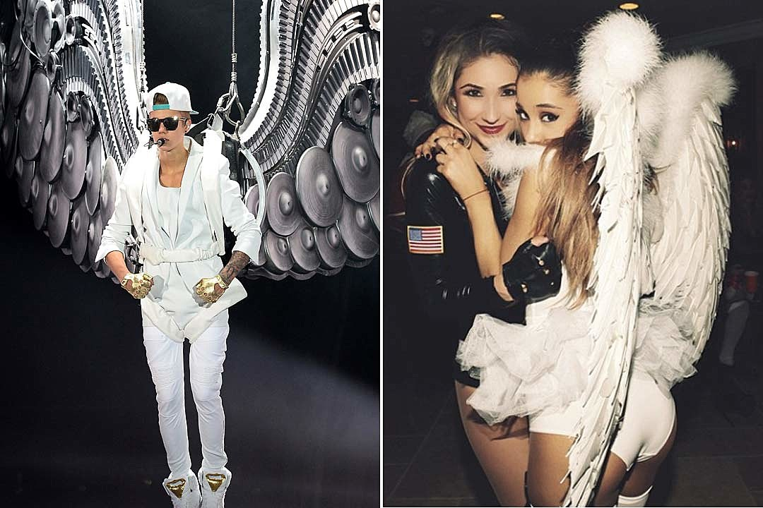 Ariana Grande Whose Angel Costume Is Better?  sc 1 st  PopCrush : ariana grande costume for halloween  - Germanpascual.Com