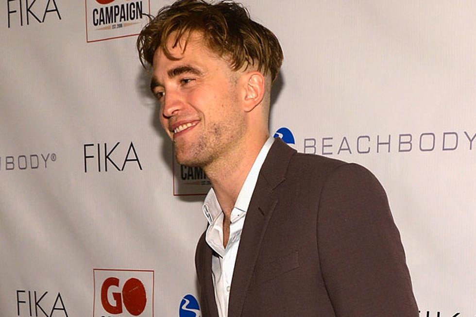 Robert Pattinson Debuts Surprising New Haircut Photos