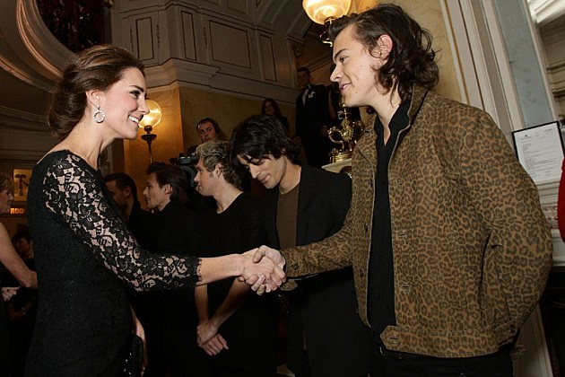 Kate Middleton Harry Styles
