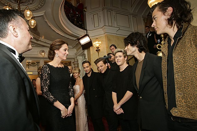 Kate Middleton One Direction