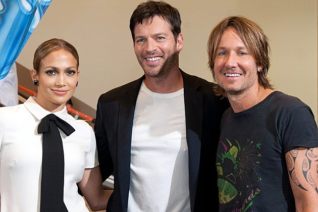 Jennifer Lopez Harry Connick Jr. Keith Urban