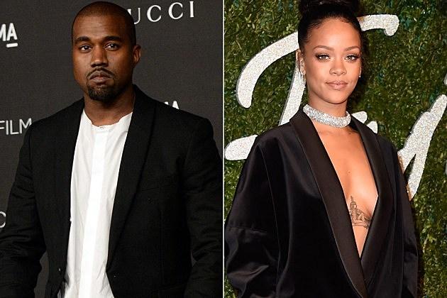 Kanye West Rihanna