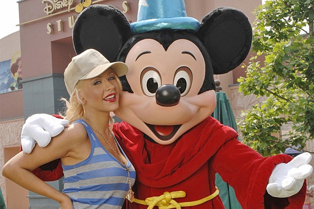 Christina Aguilera, Mickey Mouse