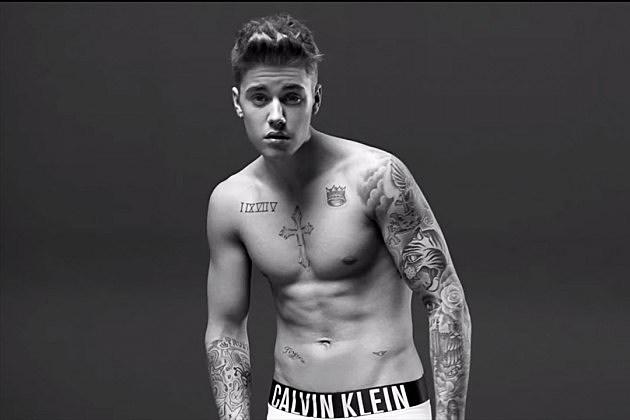 Justin Bieber Calvin Klein Website removes justin bieber
