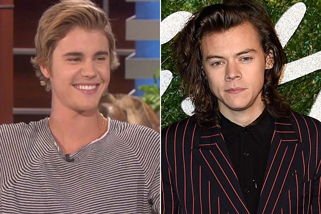 Justin Bieber vs. Harry Styles: Whose Long Hair Do You ...