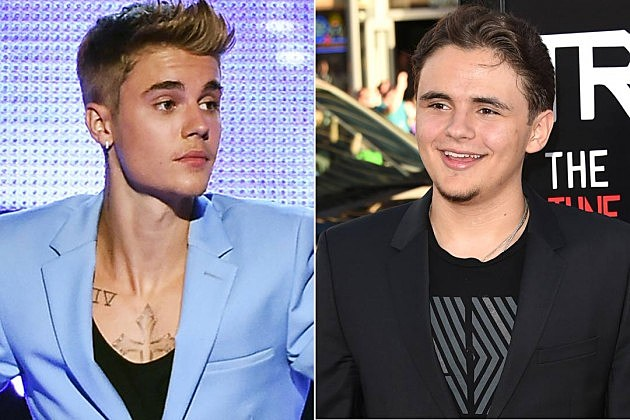 Justin Bieber Prince Jackson