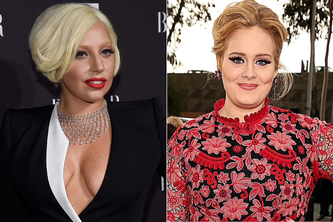 Lady Gaga: No One Talks About Adeles Weight - E! Online