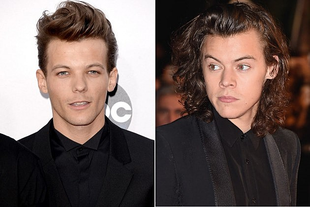 Louis Tomlinson Harry Styles