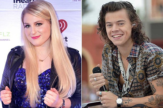 Meghan Trainor Harry Styles