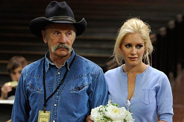 Photo of Heidi Montag & her Father  Bill Montag