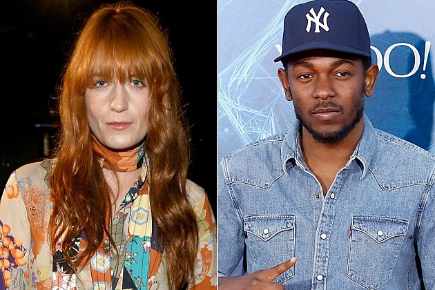 Florence Welch Kendrick Lamar