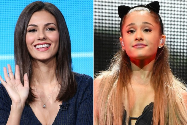 Ariana Grande and Victoria Justice Squash Feud Rumors at EPIC ...