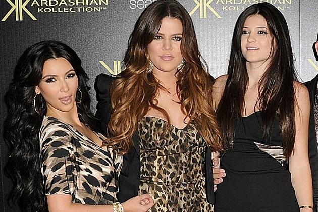 Kim Kardashian Khloe Kardashian Kylie Jenner