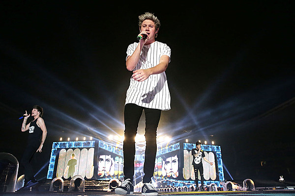 Naill Horan Shares Rehearsal Pic From 2015 Tour Photos