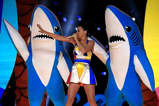 Katy Perry performs at the Superbowl