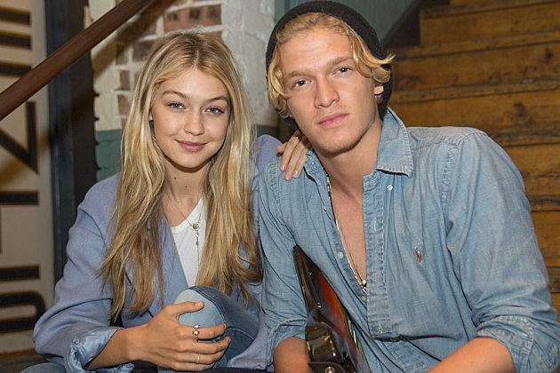gigi hadid and cody simpson are baring it all for their latest joint