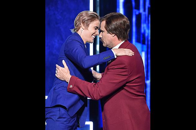 Justin Bieber & Ron Burgundy