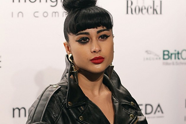 Natalia Kills Responds To X Factor Drama By Kissing