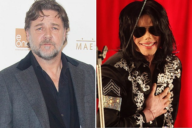 Russell Crowe Michael Jackson