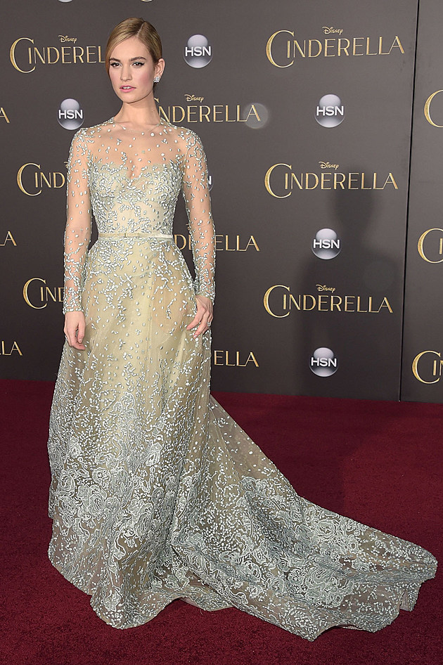 Lily James Cinderella Dresses Lily James Dresses Like a
