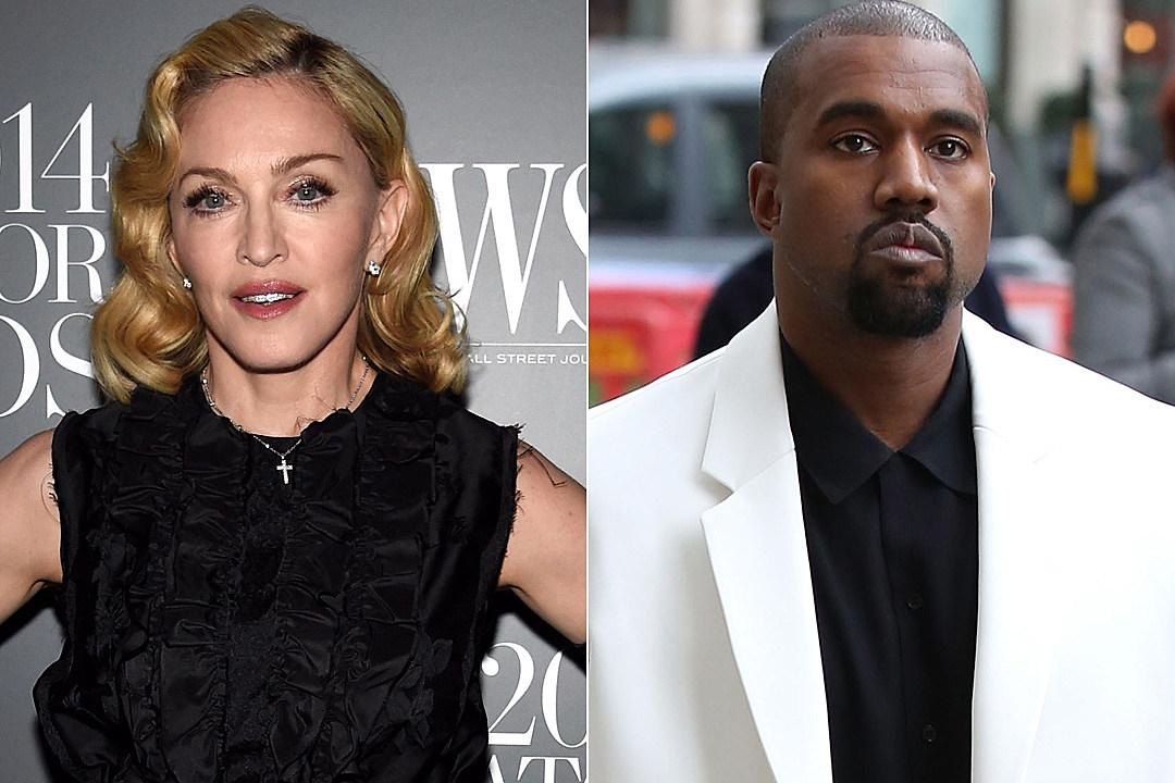 Madonna Kanye West