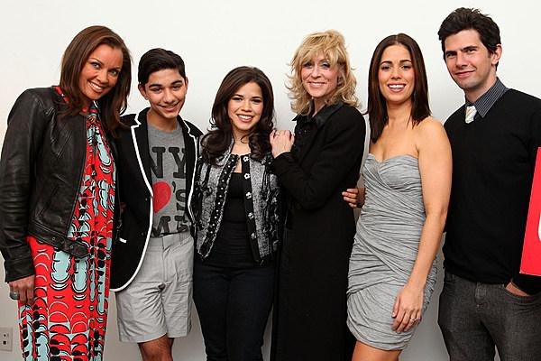 'Ugly Betty' Cast Reunites for America Ferrera's Birthday
