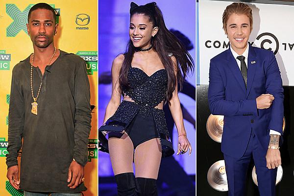 Justin Bieber Ariana Grande Big Sean Big Sean's Angry Justin Bieber