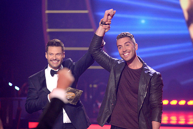 Ryan Seacrest and Nick Fradiani