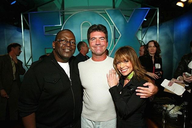 American Idol Simon Cowell Paula Abdul Randy Jackson