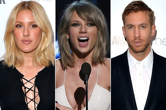 Ellie Goulding Taylor Swift Calvin Harris