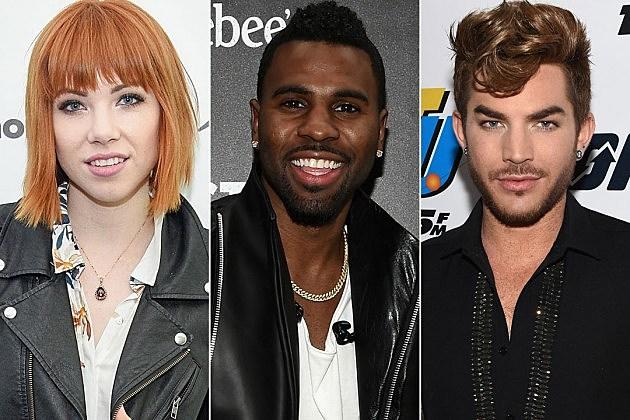 Carly Rae Jepsen Jason Derulo Adam Lambert