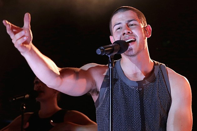 Nick Jonas iHeartRadio Summer Pool Party