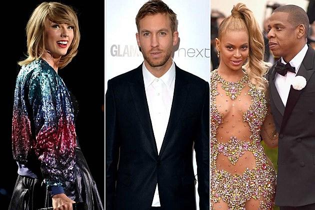 Taylor Swift Calvin Harris Beyonce Jay Z