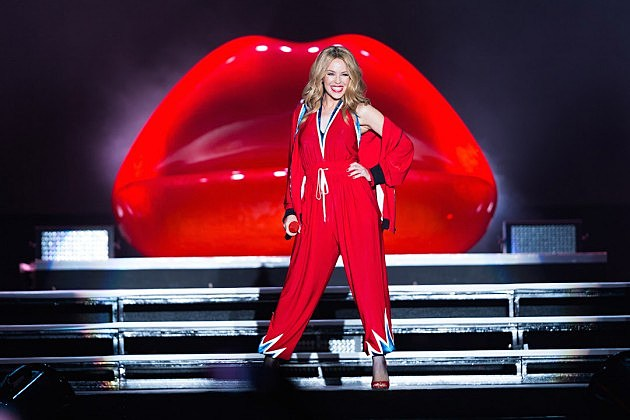 Is Kylie Minogue Planning Her First Christmas Album?