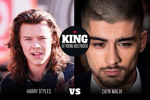 harry styles vs zayn malik � king of young hollywood