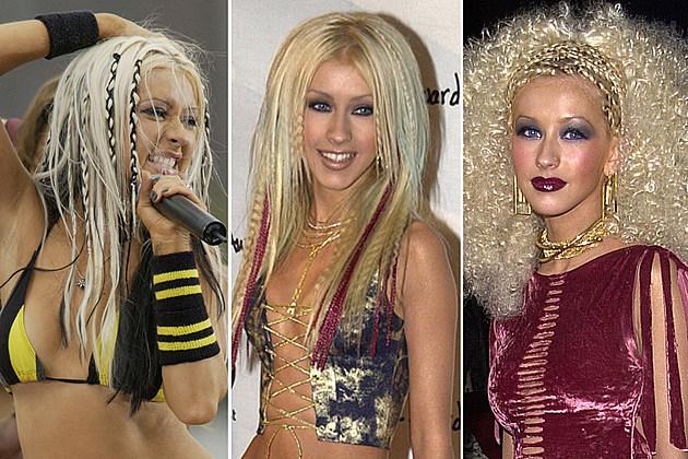 Linda Perry And Christina Aguilera