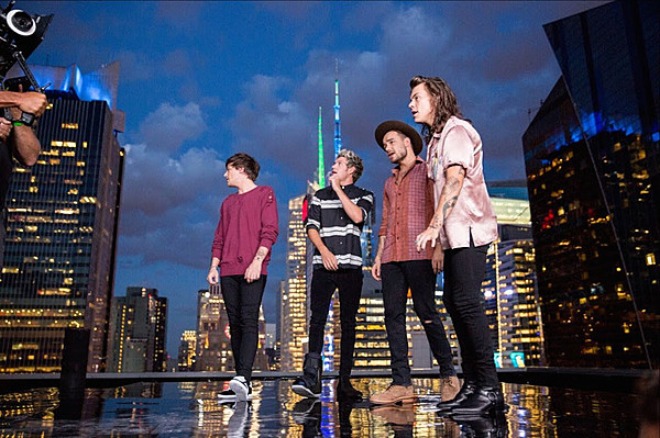 One Direction Get Rowdy In A Fancy NYC Hotel in Perfect Video