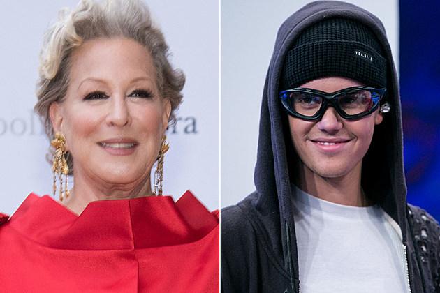 Bette Midler Justin Bieber