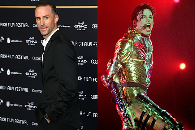 joseph fiennes suit side view + michael jackson gold outfit screaming