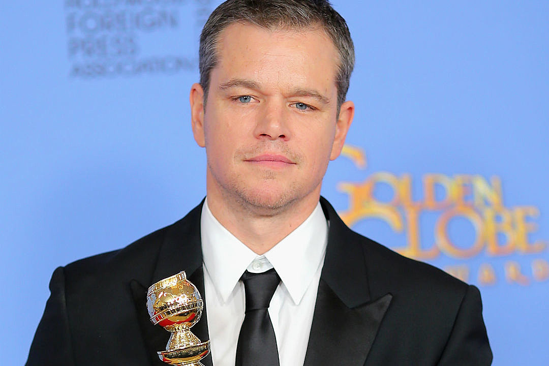 Matt Damon Wins Best Actor in a Movie: Comedy or Musical at The 2016 ...