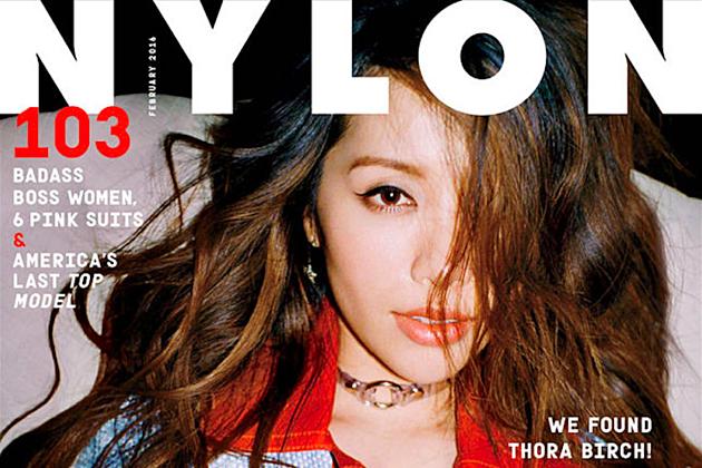 michelle phan 'nylon' magazine cover photo