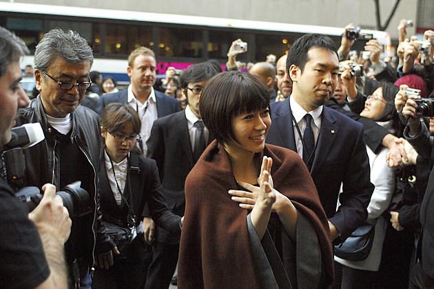 Japanese Pop Star Utada Visits Sephora